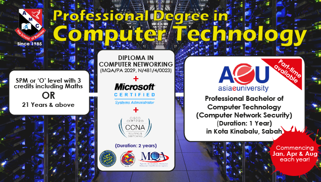 Professional Degree in Computer Technology