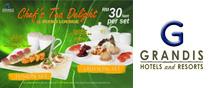 Grandis Hotel - F&B - Chef Tea Delight